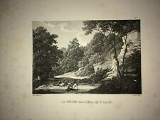 PARIS ( LA PETITE CARRIÈRE DE SAINT CLOUD).LITHOGRAPHIE XIXe.