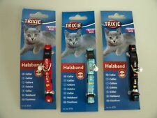 Trixie Paw Fully Adjustable Kitten Cat Collars Bell 4179 X 1