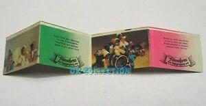 FIAMMIFERINO negretto - In vendita solo la vecchia cartina illustrata anni '70