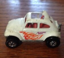Hot Wheels VW Baja Bug Red & Orange Flames Red Interior