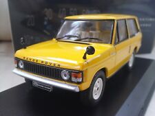 1970 Land Rover Range Rover 3.5 - Yellow - Diecast Model Car 1/43 Whitebox