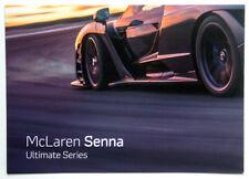 McLaren Senna Ultimate Series - Prospekt / Brochure vom Genfer Autosalon 2018