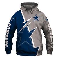 2019 Dallas Cowboys Hoodie Hooded Pullover Sweatshirt S-5XL Football Team Fans
