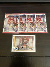 Lot Of 5 Mike Vernon Cards. x4 1990 Score #52 & 1 1990 Upper Deck #495