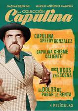 New: Capulina Colección  4 Películas NTSC