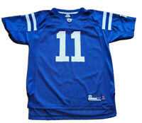 Reebok Indianapolis Colts #11 Anthony Gonzalez Boy's Youth Football Jersey XL