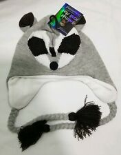 Racoon Insulated Thermal Wear Knit Hat