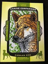 2018 Upper Deck Goodwin Champions Canine Companions #Cc166 Canaan Dog