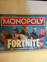 MONOPOLY Fortnite Edition Board Game Original battle