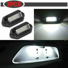 2X Universal 6 LED License Plate Light 12V S.uper Bright for Truck SUV Trailers