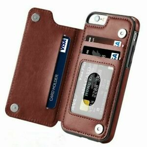 Flip Leather Phone Case Card Holder RFID Wallet Cover For Samsung Note 20 S21 20