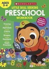 Scholastic Little Skill Seekers Preschool Workbook Paperback Book NEW