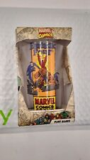 New In Box Fantastic Four Tumbler 2010 Glass Marvel Oop Thing Human Torch
