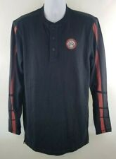 Harley Davidson Genuine Motorclothes L/S Shirt Spell out Eagle Patch Medium Tall