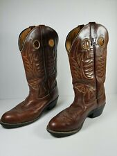 Pecos Boots Mens Size 8.5 D Pull On Western Cowboy Work Rodeo Ranch