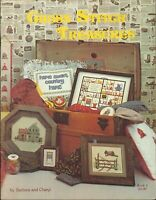 Cross Stitch Treasures Pattern Booklet 4 Barbara & Cheryl 1980 Country Sampler
