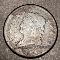 1813 Classic Head Large Cent 1c S-292 Better Low Mintage Date Type Coin
