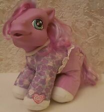 My Little Pony Petal Dove, Baby Pony Soft Toy with Sounds, G3 Pony Collectible
