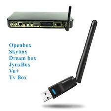 150Mbps 2.4GHz Wireless USB WiFi Dongle Adapter Antennae For MAG250 254 TV Box