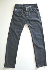 G-Star Raw Attacc Low Straight Men's Waxed Dark Wash Jeans Size W31 L34 Pristine