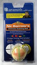"2 1/16"" FULL SIZE ARAMITH NIC BARROW'S ULTIMATE SNOOKER TOURNAMENT TRAINING BALL"