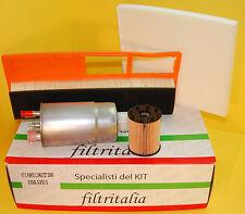 Filtri Tagliando Kit 4 Pezzi Fiat Grande Punto 1.3 Multijet