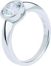 Echte Edelstein-Ringe im Verlobung-Stil mit Zirkon