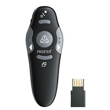 More details for proster wireless presenter 2.4ghz usb powerpoint ppt presenter remote control