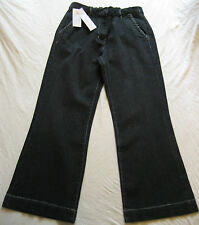 BNWT Being Casual womens teens beautiful black wider flared leg end jeans,12,28L