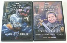 BBC The Chronicles of Narnia The Silver Chair & Prince Caspian DVD.  C.S.Lewis
