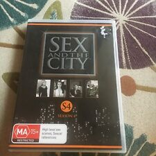 SEX AND THE CITY DVD.  SEASON 4, 3 DISCS