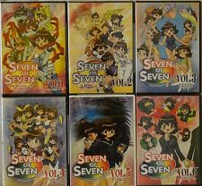 Nana Seven of Seven Complete Collection Vol 1 2 3 4 5 6 New Anime 6 DVD Set