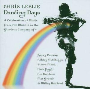 CHRIS LESLIE - DANCING DAYS (New & Sealed) CD Folk Celebration Of The Morris