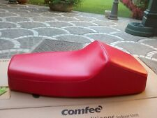 Selle Piaggio Vespa Pk 50 S avec Bosse - Couleur Rouge - Complet Serrure