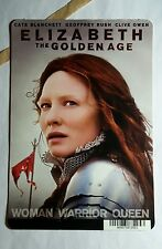 ELIZABETH THE GOLDEN AGE CATE BLANCHETT R MINI POSTER BACKER CARD (NOT A movie )