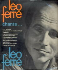 LEO FERRE 33 TOURS 25CMS FRANCE LEO FERRE CHANTE...