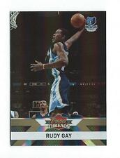 2010-11 Panini Threads Century Proof Gold #133 Rudy Gay Grizzlies /99