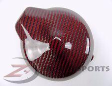 2006-2017 R6 Left Alternator Generator Stator Crank Case Cover Carbon Fiber Red