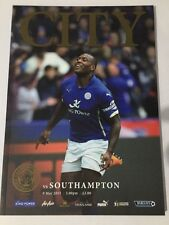 Leicester City Football Club V Southampton PREMIER LEAGUE 9th May 2015