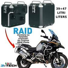 SIDE PANNIERS CASES BOXES RAID 39 + 47 LT BMW 1200 R GS ADVENTURE (K51) '14