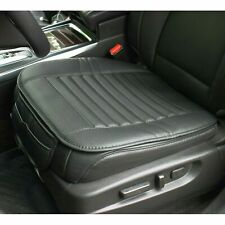 Universal Car Seat Cover PU Leather 3D Breathable Pad Mat for Auto Chair Black