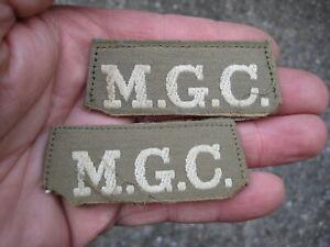 * WW1? original MGC PATCHES - set of 2. Machine Gun Corps, No reserve !!