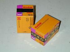 2 FILM PELLICULE 12p KODAK GOLD 200 périmé 1999 lomographie photo photographie