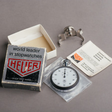 Tag Heuer stopwatch Dash timer + Box & Papers timer rally mens @WatchAdoption