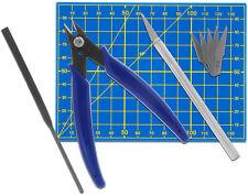 Werkzeugset für Plastikmodellbau - Grundausstattung (MS09) - NEU + OVP