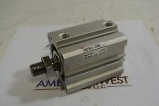 Smc Pneumatic Cylinder 3.5 in stroke Cdq2A40-30Dm