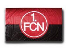 Hissflagge Fahne 1. FC Nürnberg Logo rot-schwarz Flagge - 150 x 250 cm