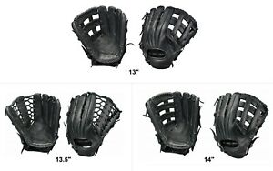 "Easton BLACKSTONE Series Slow Pitch Softball Fielder's Glove - 13"", 13.5"", 14"""