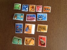 zambia stamps 1964 Complete Set Very Lightly Mounted SG 94-107