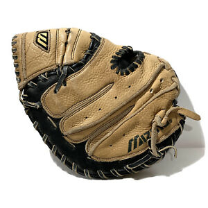 "Mizuno Catcher's Mitt Glove GXC 100 Prospect Series Power Close Leather RHT 32"""